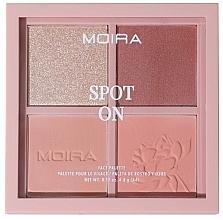 Profumi e cosmetici Palette trucco viso - Moira Spot On Face Palette
