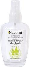 Profumi e cosmetici Spray mani antibatterico in bottiglia di vetro - Nacomi Antibacterial Liquid Hand Sanitizer