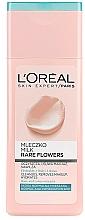 Profumi e cosmetici Latte detergente viso - L'Oreal Paris Rare Flowers Face Milk