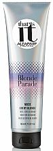 Profumi e cosmetici Maschera per capelli biondi - AlfaParf That's It Blonde Parade Mask