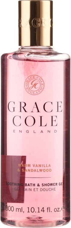 "Gel doccia ""Vaniglia e Sandalo"" - Grace Cole Warm Vanilla & Sandalwood Soothing Bath & Shower Gel"