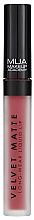 Profumi e cosmetici Rossetto liquido opaco - MUA Academy Velvet Matte Long-Wear Liquid Lip (Dash)