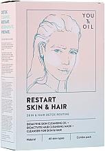 Profumi e cosmetici Terapia per viso e capelli - Restart Skin & Hair. 3 in 1 Bundle