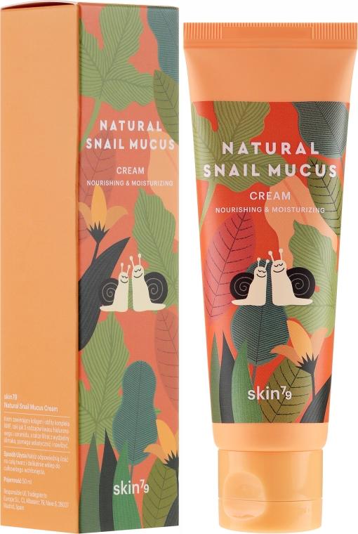Crema viso con bava di lumaca - Skin79 Natural Snail Mucus Cream