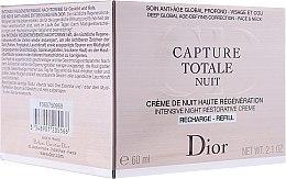 Profumi e cosmetici Crema notte anti-età per viso e collo, da notte - Dior Dior Capture Totale Nuit