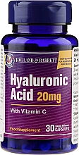 """Profumi e cosmetici Integratore alimentare """"Acido ialuronico con vitamina C"""", 20 mg - Holland & Barrett Hyaluronic Acid With Vitamin C"""