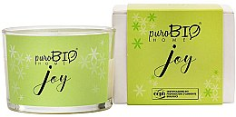 Profumi e cosmetici Candela organica - PuroBio Home Organic Joy