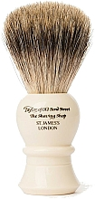 Profumi e cosmetici Pennello da barba, P2235 - Taylor of Old Bond Street Shaving Brush Pure Badger size L