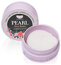 Profumi e cosmetici Patch occhi in idrogel con estratto di perle e burro di karité - Petitfee & Koelf Pearl & Shea Butter Eye Patch