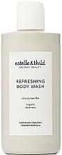 Profumi e cosmetici Gel doccia rinfrescante - Estelle & Thild Citrus Menthe Refreshing Body Wash