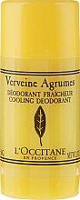 "Profumi e cosmetici Deodorante Stick ""Verbena"" - L'Occitane Verbena Deodorant Stick"