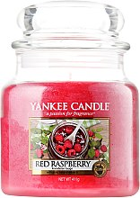 Profumi e cosmetici Candela in vetro - Yankee Candle Red Raspberry