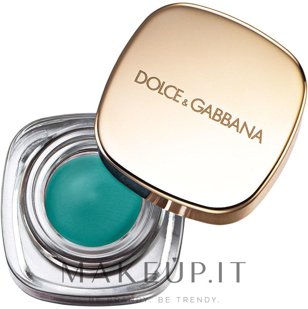 Ombretto cremoso - Dolce & Gabbana Perfect Mono Intense Cream Eye Color — foto 113 - Turquoise