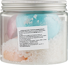 Set di bombe da bagno - Nacomi Mix Bath Bomb (bomb / 4 pezzi) — foto N2