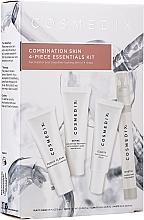 Profumi e cosmetici Set - Cosmedix Combination Skin 4-Piece Essentials Kit (f/cleanser/15ml + f/ser/15ml + f/ser/15ml + f/mist/15ml)