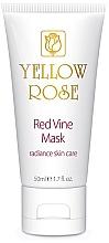 Profumi e cosmetici Maschera viso ai polifenoli all'uva rossa (tubo) - Yellow Rose Red Vine Mask