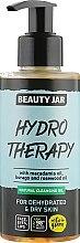 """Profumi e cosmetici Olio detergente per la pelle disidratata """"Hydro Therapy"""" - Beauty Jar Natural Cleansing Oil"""