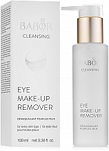 Profumi e cosmetici Struccante occhi - Babor Cleansing Eye Make up Remover