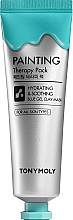 Profumi e cosmetici Maschera viso - Tony Moly Painting Therapy Pack Hydrating & Soothing