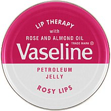 """Profumi e cosmetici Balsamo per labbra """"Rose"""" - Vaseline Lip Therapy Rosy Lips Balm"""