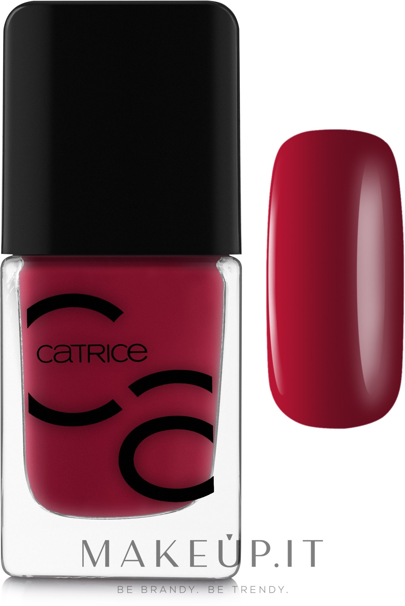 Smalto per unghie - Catrice ICONails Gel Lacquer — foto 02 - Bloody Mary To Go