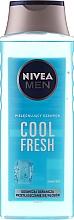 """Profumi e cosmetici Shampoo uomo """"Estrema freschezza"""" - Nivea For Men Cool Fresh Mentol Shampoo"""