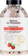 Profumi e cosmetici Sale da bagno alla fragola - Nature de Marseille