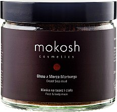 "Profumi e cosmetici Maschera viso e corpo ""Fango del Mar Morto"" - Mokosh Cosmetics Dead Sea Mud Face and Body Mask"