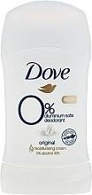Deodorante stick - Dove Original 0% Aluminium Salts Deodorant — foto N1