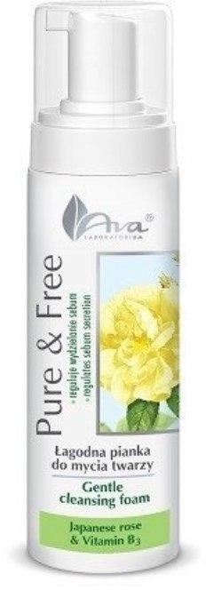 Schiuma detergente - AVA Laboratorium Pure & Free Gentle Cleansing Foam