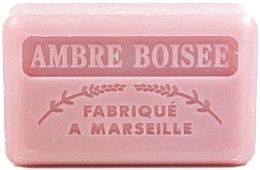 """Profumi e cosmetici Sapone di Marsiglia """"Ambre Boisee"""" - Foufour Savonnette Marseillaise Ambre Boisee"""