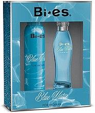 Profumi e cosmetici Bi-Es Blue Water - Set (edp/100ml + deo/150ml)