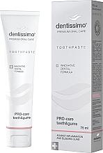 """Profumi e cosmetici Dentifricio """"Protezione denti e gengive"""" - Dentissimo Pro-Care Teeth&Gums"""