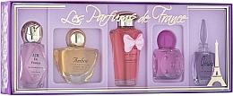 Profumi e cosmetici Charrier Parfums Parfums De France - Set (edp/5.2ml+edp/5.2ml+edp/5.2ml+edp/8ml+edp/4.9ml)