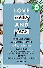 Profumi e cosmetici Sapone - Love Beauty&Planet Coconut Water & Mimosa Flower Bar Soap