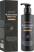 Profumi e cosmetici Shampoo alla bava di lumaca - Ayoume Black Snail Prestige Shampoo