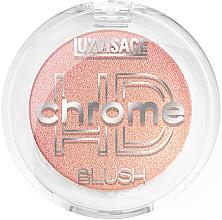 Profumi e cosmetici Blush - Luxvisage HD Chrome Blush
