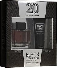Profumi e cosmetici Antonio Banderas Seduction in Black - Set (edt/100ml + a/sh/b/75ml)