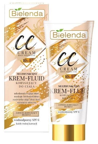 CC crema-fluido per corpo - Bielenda Magic CC 10in1 Body Correction Cream Waterproof Tanning Effect SPF6
