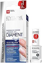 Profumi e cosmetici Complesso brillante per il ripristino delle unghie - Eveline Cosmetics Nail Therapy Professional