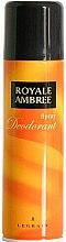 Profumi e cosmetici Legrain Royale Ambree - Deodorante-spray