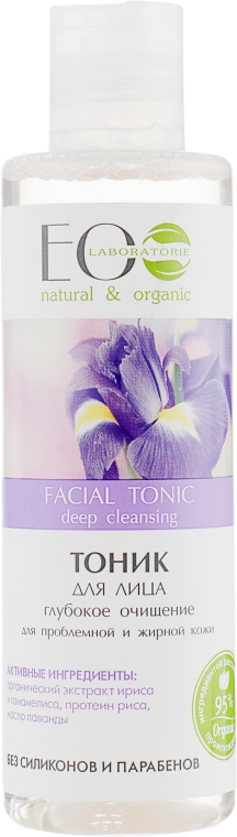 """Tonico viso """"Purificazione profonda"""" - Eco Laboratorie Facial Tonic"""