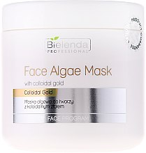 Profumi e cosmetici Maschera viso alle alghe e oro colloidale - Bielenda Professional Face Algae Mask