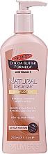 Profumi e cosmetici Lozione corpo idratante - Palmer's Cocoa Butter Formula Natural Bronze Body Lotion
