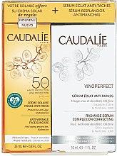 Profumi e cosmetici Set - Caudalie Vinoperfect Set (ser/30ml + sun/cr/25ml)