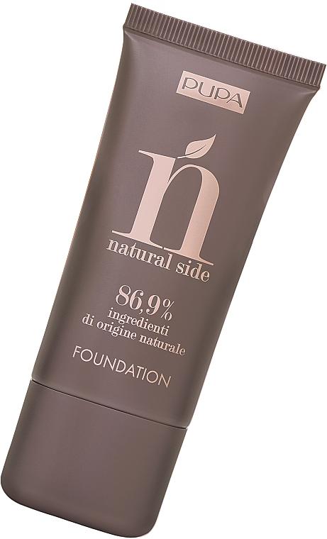 Fondotinta - Pupa Natural Side Foundation