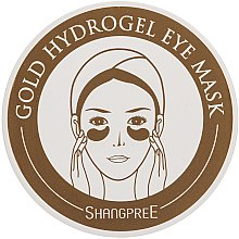 Profumi e cosmetici Maschera idrogel contorno occhi - Shangpree Gold Hydrogel Eye Mask