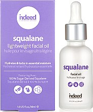 Profumi e cosmetici Olio viso - Indeed Laboratories Squalane Facial Oil