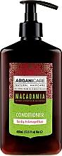 Profumi e cosmetici Balsamo per capelli con olio di macadamia - Arganicare Macadamia Conditioner