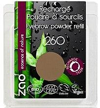 Profumi e cosmetici Ombretto per sopracciglia - Zao Eyebrow Powder (ricarica)